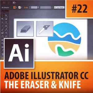 Adobe Illustrator CC 2015  Eraser amp Knife Tools Episodehellip