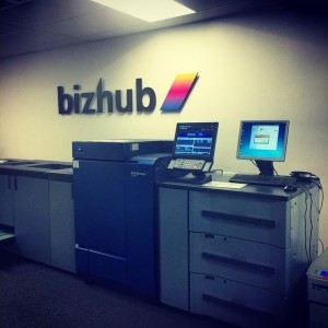 Looked at the new Bizhub 1100 today to upgrade fromhellip
