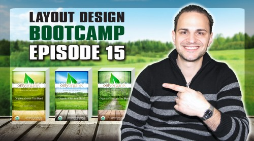 Layout Design Bootcamp – Episode 15 – Package Design