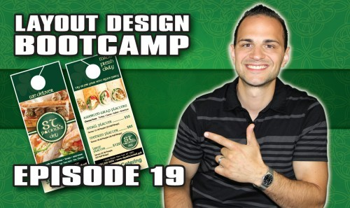 Layout Design Bootcamp – Episode 19 – Door Knob Hanger Design