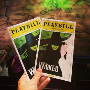 Finally seeing wicked on broadway Love the play illustration designhellip