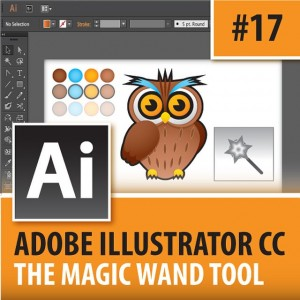 Adobe Illustrator CC 2014  Magic Wand Tool  Episodehellip