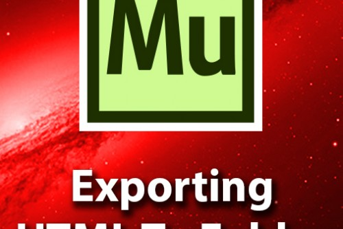 Export Your Website As HTML To a Folder In Adobe Muse CC
