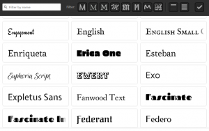 Adobe Muse Typekit