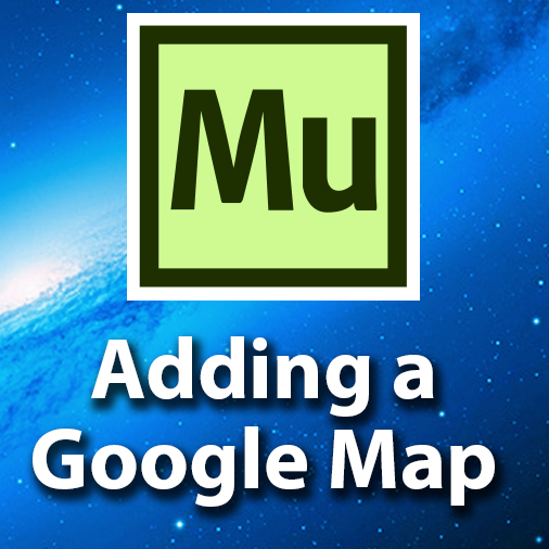 Adding a Google Map To Your Website – Adobe Muse Getting Started
