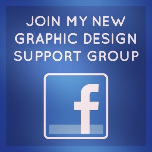 Get your #graphicdesign questions answered in my new #facebook support…