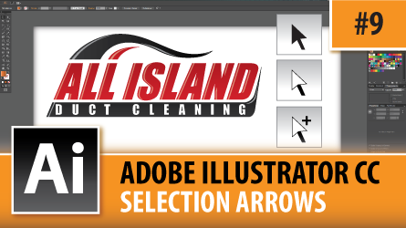 Adobe Illustrator CC 2014 – The Selection Arrows – Episode #9