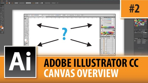 Adobe Illustrator CC 2014 – Full Canvas Overview – Episode #2