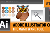 Adobe Illustrator CC 2014 – The Magic Wand Tool – Episode #17