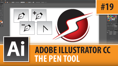 Adobe Illustrator CC 2014 – The Pen Tool – Episode #19