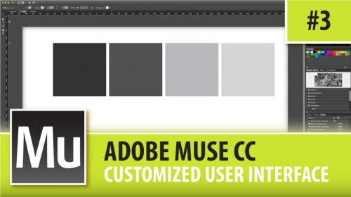 Adobe Muse CC – Customized User Interface – Episode #3 | Graphic
