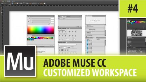 Adobe Muse CC \u2013 Customized Workspace \u2013 Episode #4 | Graphic