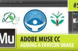 Adobe Muse CC – Adding A Favicon Image – Episode #5