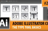Adobe Illustrator CC 2015 – The Type Tool Basics – Episode #20