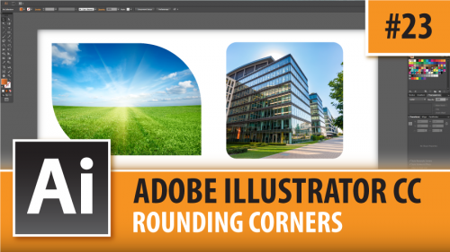 Adobe Illustrator CC 2015 – Rounding Corners – Episode #23